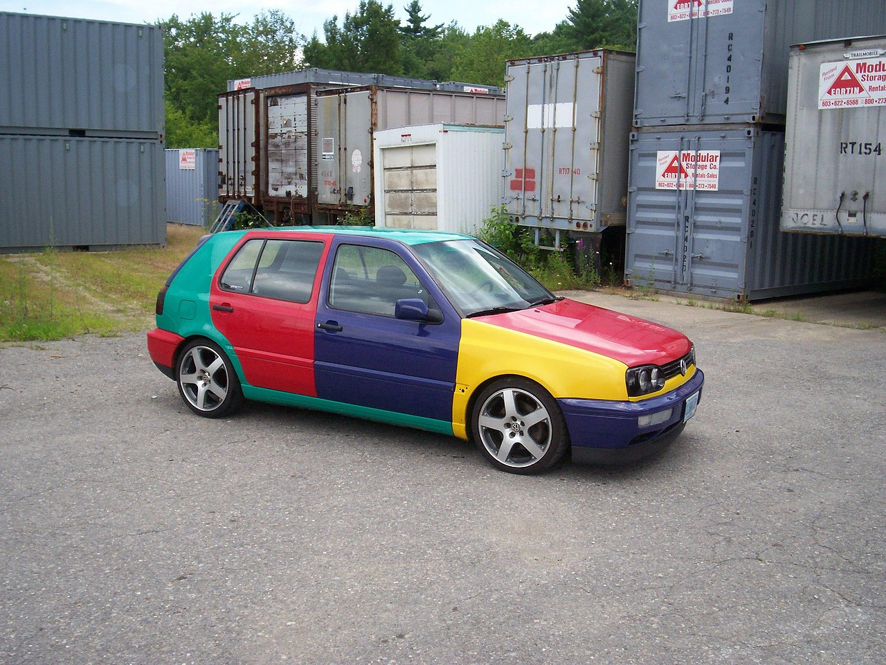 1996 VW Golf Harlequin
